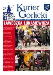Ławeczka Łukasiewicza - Urząd Miejski w Gorlicach