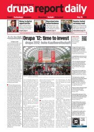 Drupa '12: time to invest - Drupa Report Daily