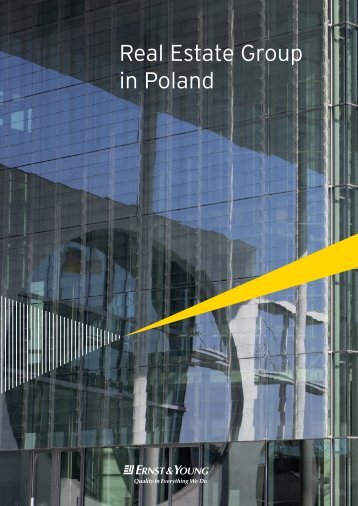 Real Estate Group in Poland - Ernst & Young