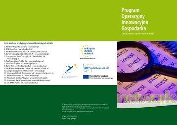 konkursy 2011 - pobierz publikację - Enterprise Europe Network