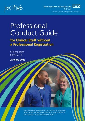Professional Conduct Guide - Health Partnerships Learning ...