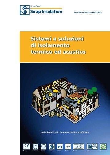 Sistemi e soluzioni di isolamento termico ed acustico - Sirap Group