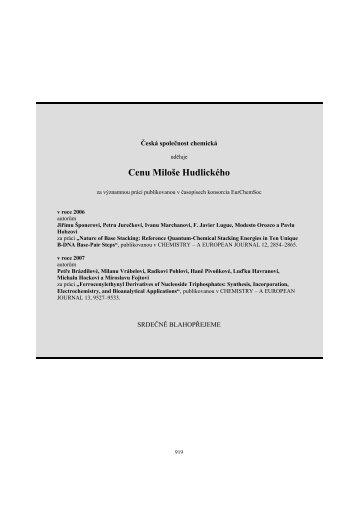 Full text (PDF) - Chemické listy