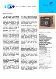 spec sheet (PDF 113k) - Power Drive Systems Generator Automatic ...