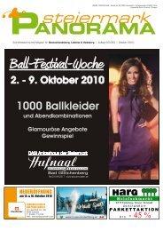 Ausgabe 08/10 - Steiermark Panorama
