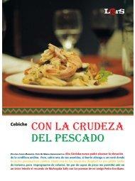 LUGARES / Con la crudeza del pescado - Revista La Central