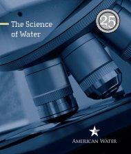 25th Anniversary Brochure - American Water