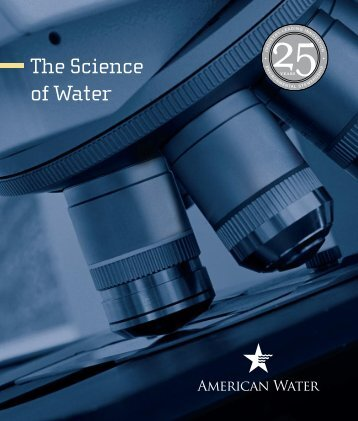 25th Anniversary Brochure - American Water