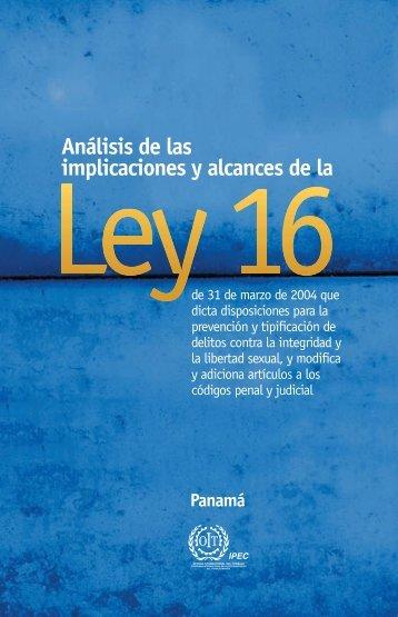 alcances ley 16 -4 - OIT en América Latina y el Caribe