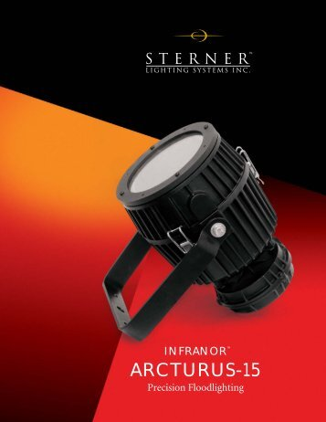 Arcturus-15 Brochure - Sterner Lighting