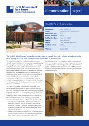 Constructing Excellence case study - ukcip