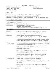 michael j. jung - NYU Stern School of Business - New York University