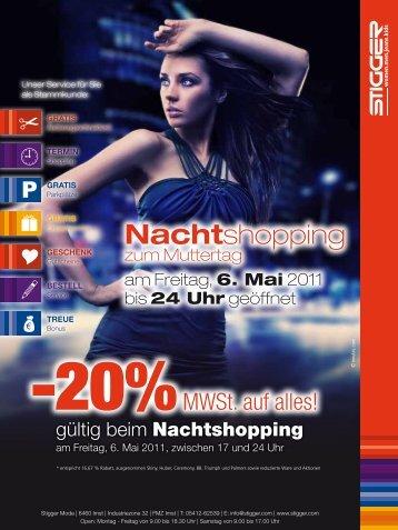 20 % auf Bademode - Stigger Mode - FMZ Imst