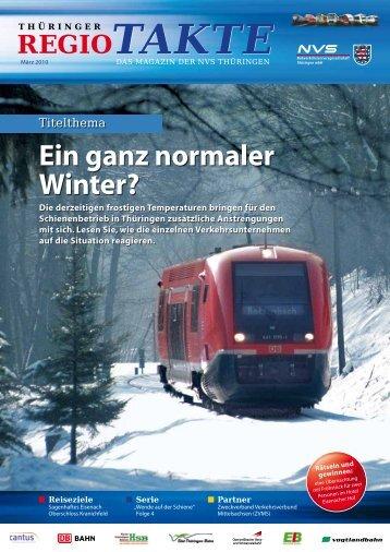 Ein ganz normaler Winter? - NVS Nahverkehrsservicegesellschaft ...