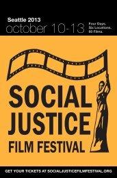 2013 Program - Social Justice Film Festival
