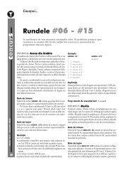 c s Rundele #06 - #15 - GInfo