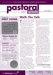 spirituality - The Methodist Church of Great Britain