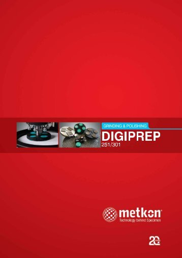 DIGIPREP 251 and 301 complete catalogue - Kemet International
