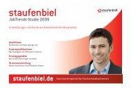 JobTrends-Studie 2009 - Staufenbiel