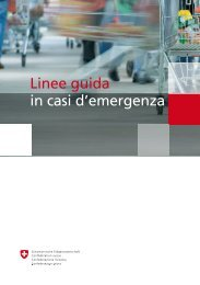 Linee guida in casi d'emergenza - BWL - admin.ch