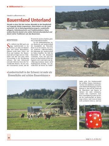 Bauernland Unterland