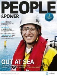 OUT AT SEA - Statkraft