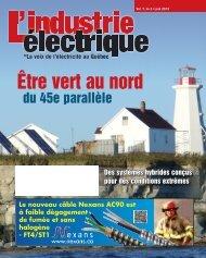 Être vert au nord - Electrical Business Magazine