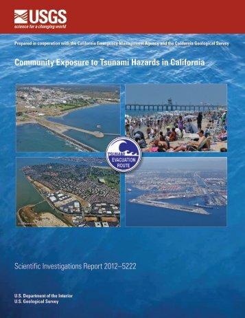 Community Exposure to Tsunami Hazards in California - ABAG ...