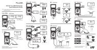 187/189 True RMS Multimeter Quick Reference Guide