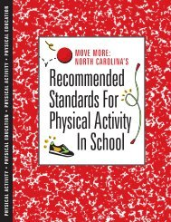Recommended Standards For Physical Activity In School - Eat Smart ...