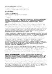 Vaihtokeskuksen uudet haasteet - Tieteellisten seurain valtuuskunta