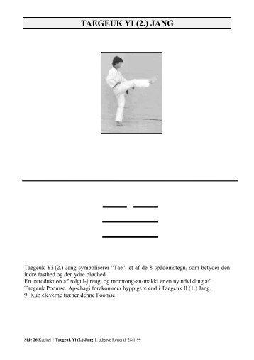 Taegeuk 2 - Ballerup Taekwondo Klub