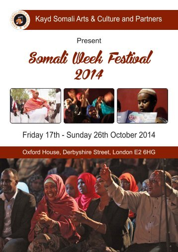 Somali-Week-Festival-2014-Programme