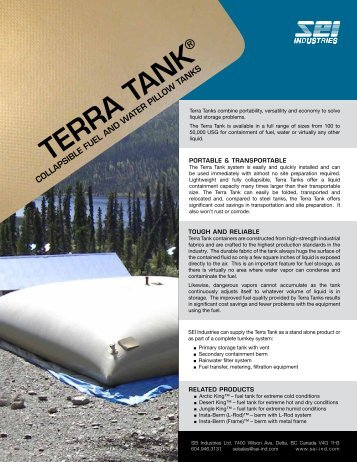 TERRA TANK - SEI Industries Ltd.