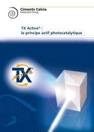 TX Active - Ciments Calcia