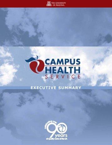 Executive Summary - Campus Health - University of Arizona