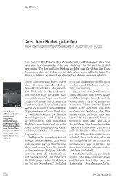 Aus dem Ruder gelaufen - Klaus J. Bade