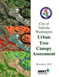 Urban Tree Canopy Assessment - the City of Tukwila