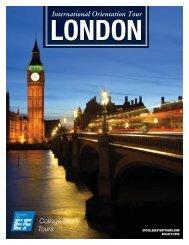 london international orientation tour - EF College Study Tours