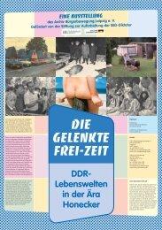 Die gelenkte Frei-zeit - Bundesstiftung zur Aufarbeitung der SED ...