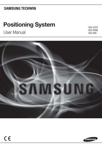 Positioning System - Samsung CCTV
