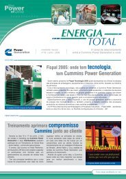 News Energia Total - Edição 2 - Cummins Power Generation
