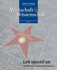 Personen - Stifterverband für die Deutsche Wissenschaft