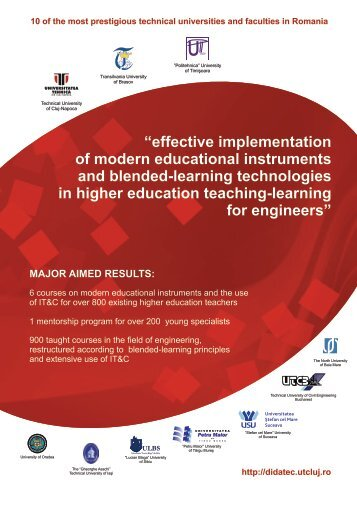 """effective implementation of modern educational instruments and ..."