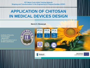 application of chitosan in medical devices design - Step itn