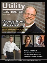View Full January PDF Issue - Utility Contractor Online