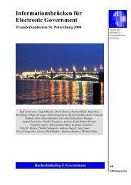 Informationsbrücken für Electronic Government - Alcatel-Lucent ...