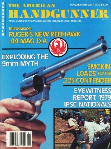 American Handgunner Jan/Feb 1980