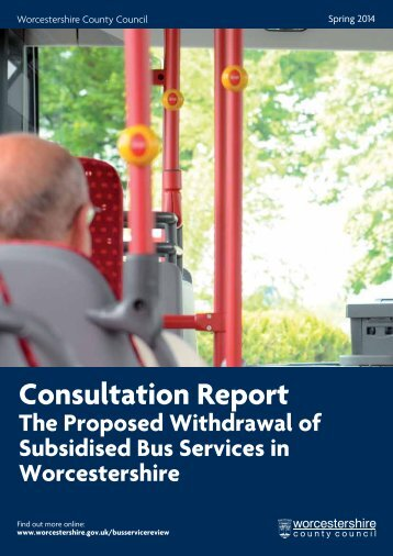 BSR Consultation Report - FINAL DRAFT