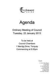 Meeting Agenda - Surf Coast Shire